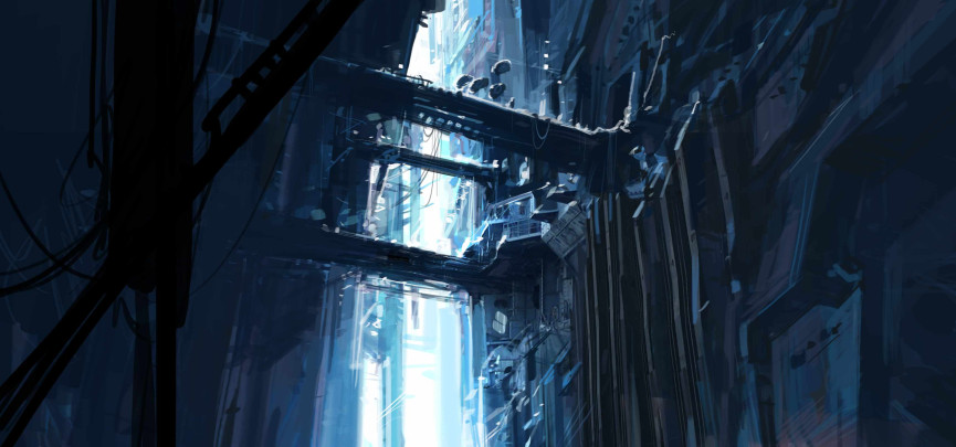 Half-Life 2: Episode 3 concept artwork, released 2007
