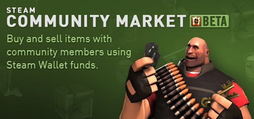 Steam's New Community Market Beta Goes Live, Lets Players Buy And Sell In-Game Items Using Steam Wallet Funds
