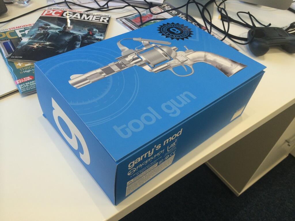 A real life Garry's Mod Tool Gun