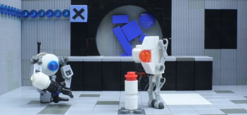 Community Spotlight: Lego Portal 2