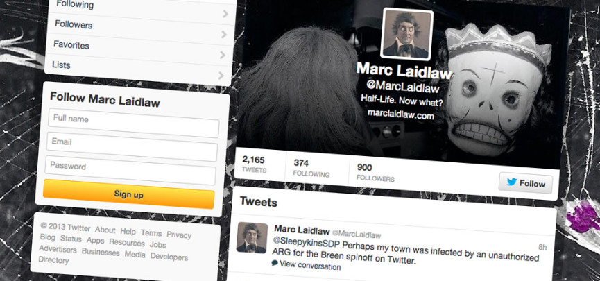Marc Laidlaw Leaves Twitter