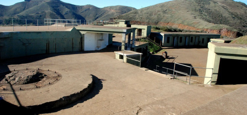 Abandoned areas in California's Marin Headlands