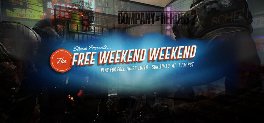 Huge Steam 'Free Weekend' Starts October 16th