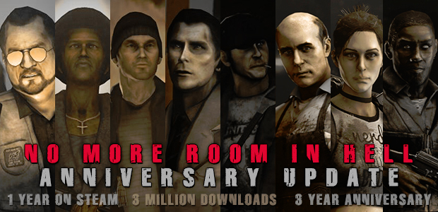No More Room in Hell 1.09 Released