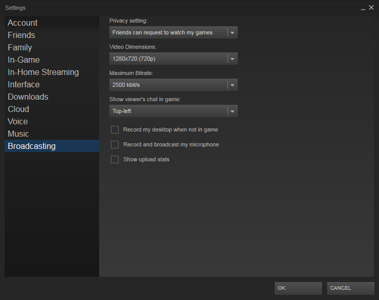 steambroadcasting-options