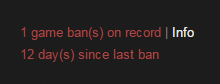 Game Bans on Steam