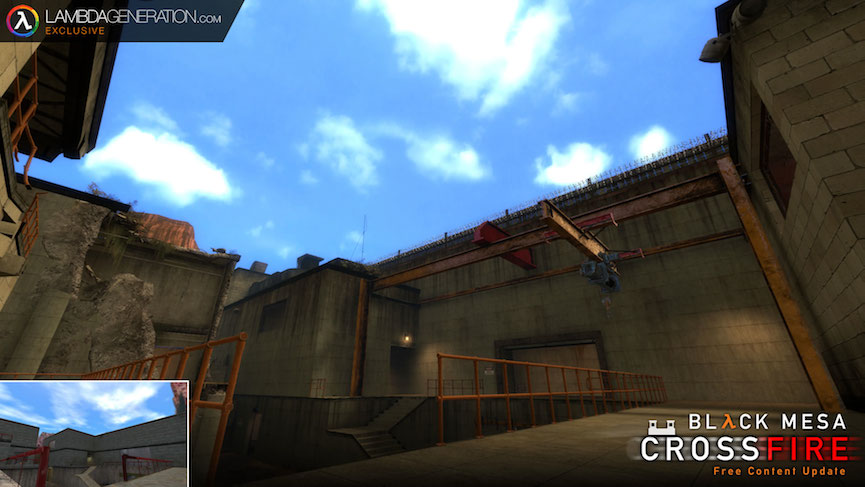 LambdaGeneration.com Exclusive - Black Mesa's Crossfire Update