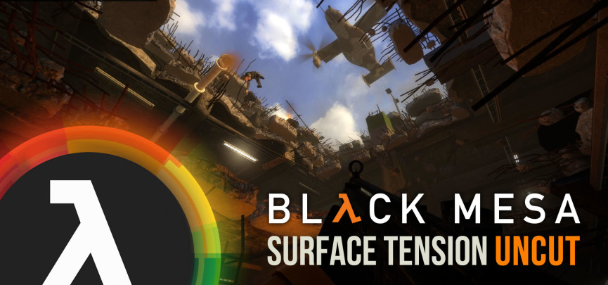 Interview with Black Mesa Developer Chon Kemp – Exclusive Look at Surface Tension Uncut, Info on Xen + Livestream Giveaway