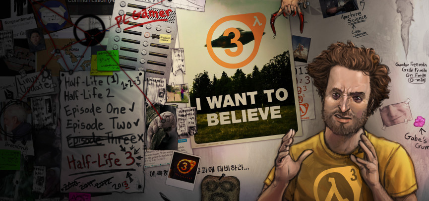 Speculation: Will there ever be another Half-Life game? Image by Ivan Bakula