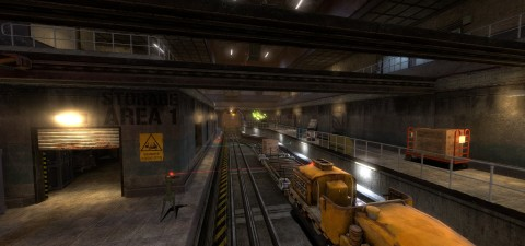 Black Mesa Developers Release 'On A Rail Uncut' As Steam Workshop Mod