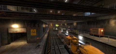 Black Mesa Developers Release 'On A Rail Uncut' As Steam Workshop Mod