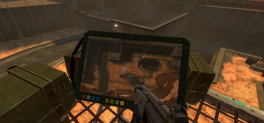 Black Mesa's Version of the Tactical Map