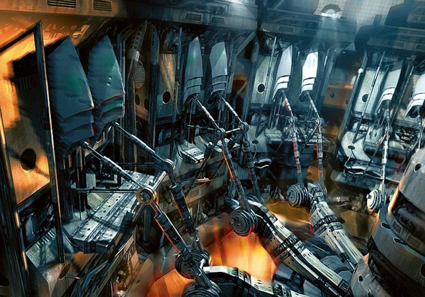Inside Of A Combine : Scrapped and future concepts of half life episodic