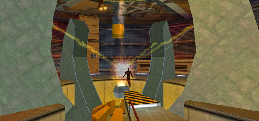 Freeman's cameo in Opposing Force