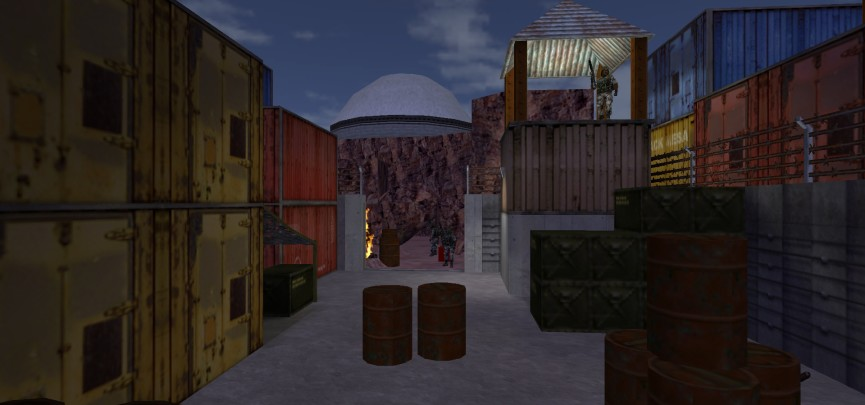 The Many Faces of Half-Life: Uplink