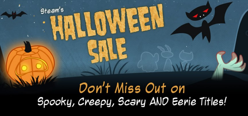 Steam Halloween Sale Goes Live (Technically, It's Gone Undead)