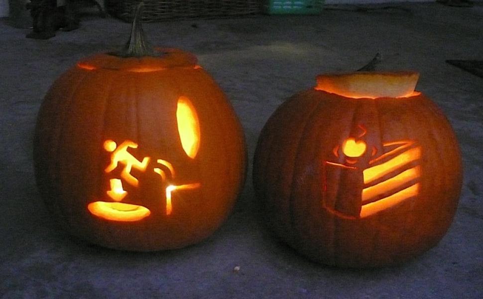 Michael's Portal pumpkins