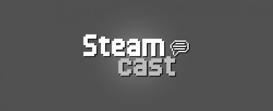 The classic Steamcast logo.