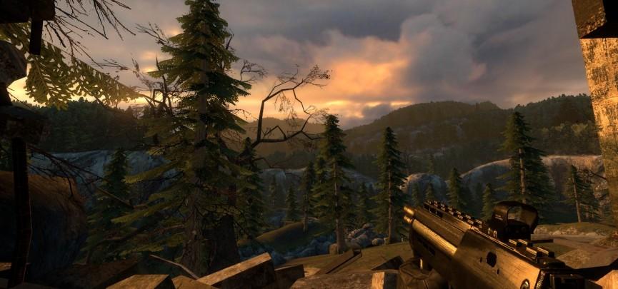 DefendVille contains ten new Half-Life 2 Episode 2 levels where you defend Villes