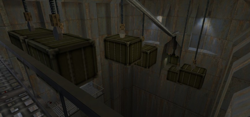The huge unlikely interiors of Black Mesa provide huge spaces for jumping puzzles