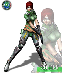 Females in Counter Strike? Since when!? Courtesy of NAMCO