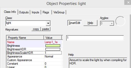 Hammer light properties