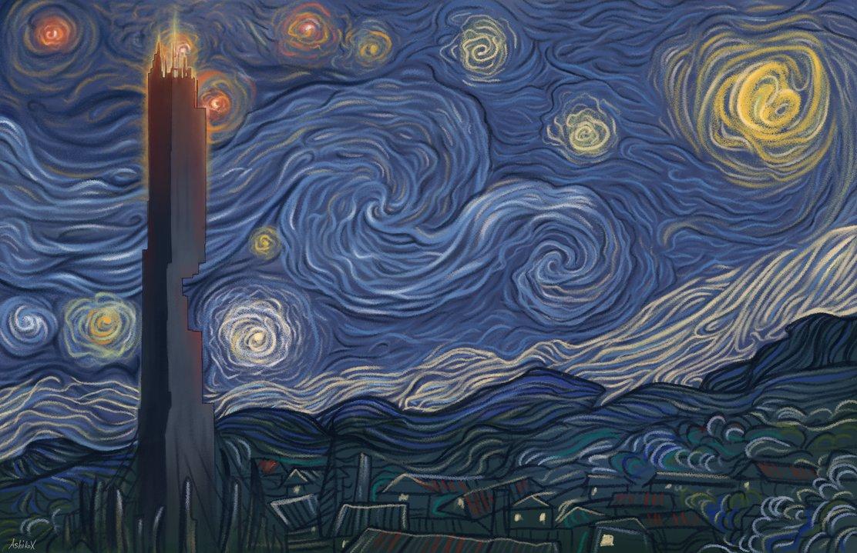 """""""Dark Energy Night"""" by AshiRox"""