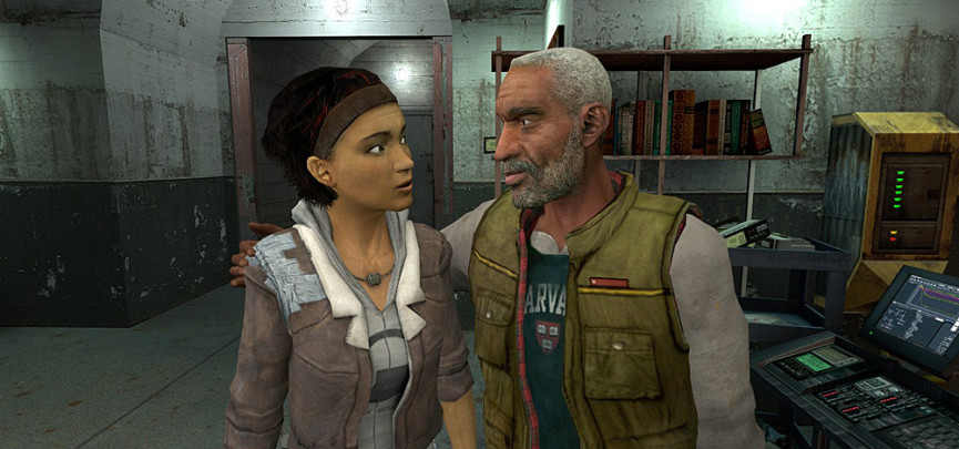 Theory: Are Chell from Portal and Alyx Vance Sisters?