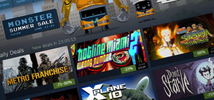 The Steam Summer Sale Is on Now, What's on Your Wishlist?