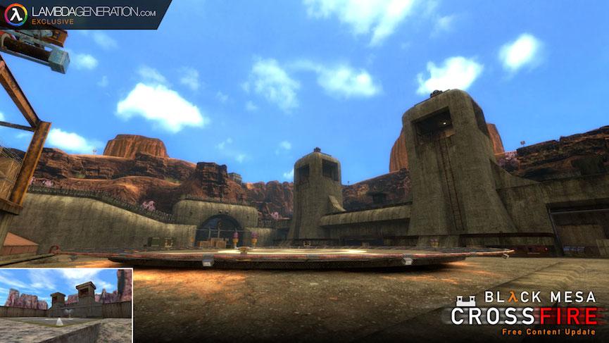 LambdaGeneration.com Exclusive - Black Mesa's Crossfire Update