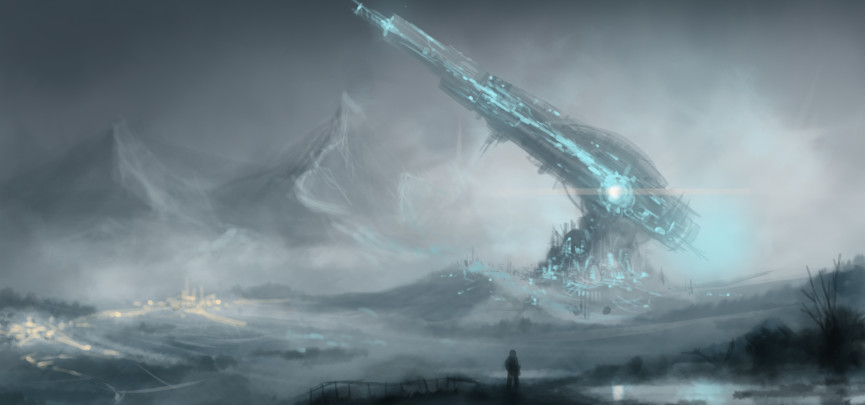 From Earth Concept Artwork